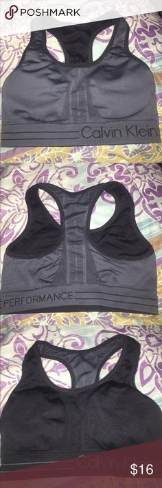 Reversible sport bra Perfect conditions! Provides great support! 2 in 1 😁 Calvin Klein Other