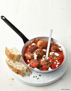 Lammhackbällchen in Tomatensauce