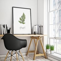 This printable Fern wall art decor is one of 4 colour illustrations from my minimalist botanical prints set. This fern botanical print features a Hare's-Foot Fern illustration, followed by the common name and Latin name. The simple and clean design makes this vintage fern print perfect for any minimalist style interior, or even as a beautiful gift. If you're looking for a fern print set, be sure to take a look at the other prints of this style in my store.
