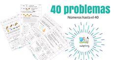 40 problemas de números hasta el 40