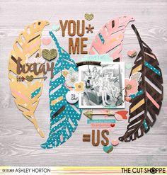 You + Me = Us - Scrapbook.com