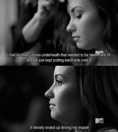A scene from Demi Lovato's Stay Strong documentary