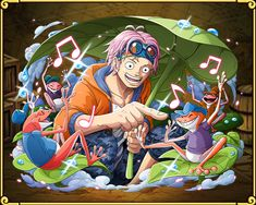 One Piece: Treasure Cruise. Coby / Koby