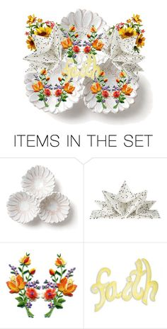 """""""HAVE FAITH !"""" by kksnanny ❤ liked on Polyvore featuring art"""