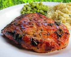 Honey Rosemary Pork Chops  - Learn how to cook this in the Paleo Diet recipe book download!