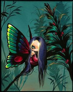 Art: Colorful Fairy Wings by Artist Nico Niemi