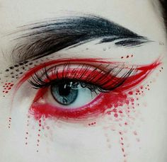 Whenever you do eye makeup, make your eyes look brighter. Your eye make-up must make your eyes stand out among the other functions of your face. Cosplay Makeup, Costume Makeup, Make Up Inspiration, Beauty Make-up, Beauty Hacks, Hair Beauty, Makeup Artist Business Cards, Eye Makeup Art, Maquillage Halloween