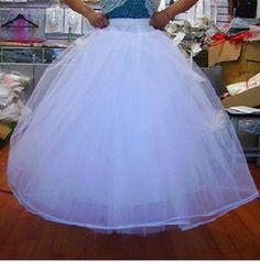 NEW White Wedding Dresses Bridal Gown Bridal Crinoline Petticoats Bridal Accessories (10pcs lot)
