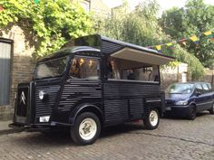 Mobile Cocktail Bar: Bar de Cru BdC have done a great job of jazzing up their vintage H van... a very snazzy bar!
