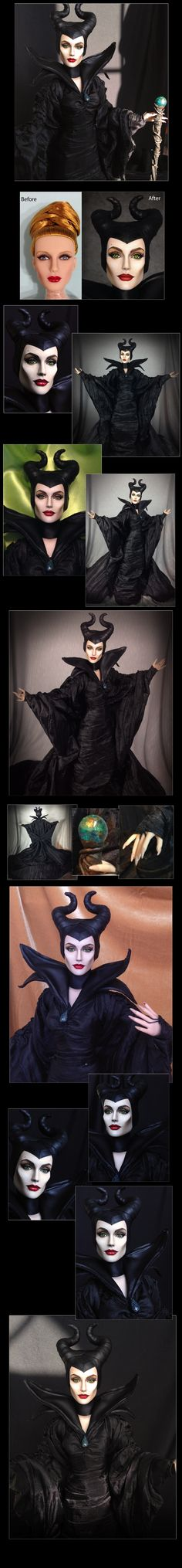 Tonner doll as Maleficient