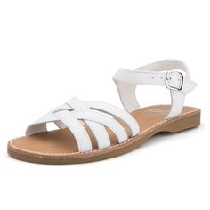 6a72b2a49f1 Sandalia Lisa Blanca - Calzado para Niños Pisamonas