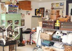 Liz Alpert Fay's studio