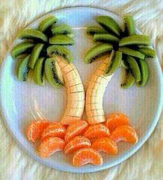 Mmmm, la fruta bien presentada.