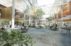 Publicamos a seguir o projeto do Aalborg University Hospital, localizado na Dinamarca, de autoria do escritório Schmidt Hammer Lassen Architects, vencedor de concurso realizado em 2012.