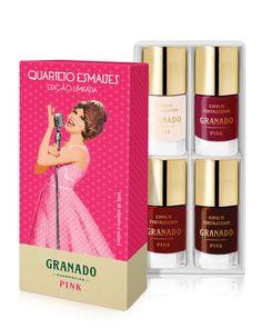 Kit Quarteto Esmaltes Cantoras - Granado