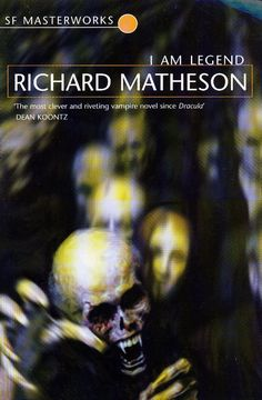 I Am Legend by Richard Matheson - This brilliantly shows the implications of isolation on a human being. And the creatures in this book are vampires (and not vampire-zombies like in the Will Smith movie).