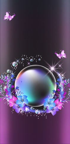 Be crystal clear ball when u r from ur intention n love Butterfly Wallpaper, Heart Wallpaper, Purple Wallpaper, Cute Wallpaper Backgrounds, Butterfly Art, Pretty Wallpapers, Love Wallpaper, Cellphone Wallpaper, Galaxy Wallpaper