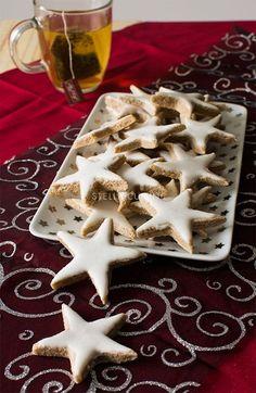 Recette de bredele alsacien, le Zimsterne, étoile à la cannelle | StellA Cuisine !!! Recettes faciles, Recettes pas chères, Recettes rapides