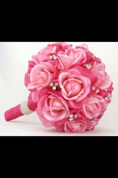 beautiful pink boquet