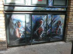 Heneage Street Brick Lane, Places Of Interest, Street Art, London, Instagram Posts, Painting, Brick Road, Painting Art, Paintings