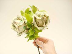 Picture of Dollar Bill Flower Bouquet
