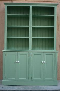 Handmade bespoke Farrow and Ball Bookcase. Bespoke Furniture, Bookcase, Handmade, Hand Made, Book Shelves, Handarbeit, Bookshelves