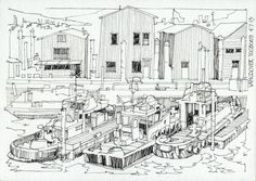JR Sketches: Seattle & Vancouver - July 2013