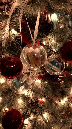 Green Beauty Gifts - Wrap any of our Beautiful gifts in our clear balls and gift a gift she will love! Large Christmas Baubles, Green Christmas, Christmas Images, Christmas Holidays, Christmas Bulbs, Christmas Gifts, Christmas Decorations, Holiday Decor, Christmas Videos