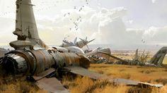 Bungie's Destiny Concept Art Dump. Love the Mothyards