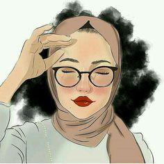 Hijab glasses girl dijital art Source by Sitedetailleplus Girl Cartoon, Cartoon Art, Doodle, Hijab Drawing, Anime Muslim, Hijab Cartoon, Girly Drawings, Girls Characters, Beautiful Hijab
