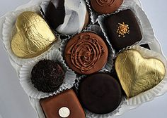 Luxury Boxed Chocolate Mini Cakes