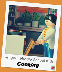 Get your Middle School Kids Cooking @Education Possible Cooking is one of those essential life skills kids need before they move out on their own. If your child already loves being in the kitchen, this is easy to accomplish. But what if your teen isn't showing much interest in learning how to cook? You may have to get creative.