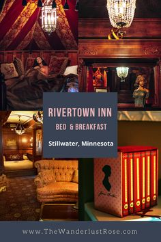 Book Lovers You Need To Stay At This Literary-Themed Bed And Breakfast in Stillwater, Minnesota Stillwater Minnesota, Hearts Playing Cards, Grand Marais, Cut Above The Rest, Themed Rooms, Travel Jobs, Antique Decor, Breakfast In Bed, Romantic Getaway