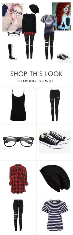 """""""Yay! A sleepover!! ~Rosy and Nicole"""" by awesome-and-amazing-anons ❤ liked on Polyvore featuring interior, interiors, interior design, home, home decor, interior decorating, M&Co, Topshop, Converse and Halogen"""
