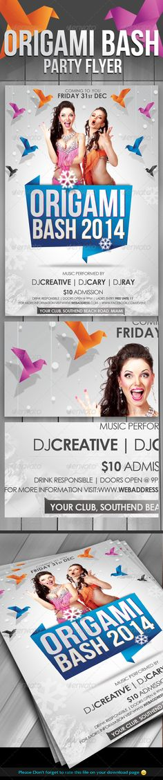 Contemporary Flyer Template 105852 | Brochures | Pinterest | Flyer
