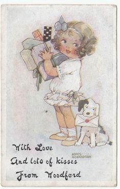 Agnes Richardson card, 1919   eBay