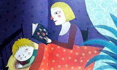 """Illustrazione di Mariana Ruiz Johnson, """"Mentre tu dormi"""", Carthusia Edizioni"""