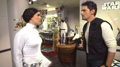 Carrie Underwood wears Princess Leia buns as she and Brad Paisley open 2015 CMAs with Star Wars spoof