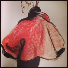 Charles James Genius deconstructed Illustration by the genius Antonio Lopez #beautybeyond