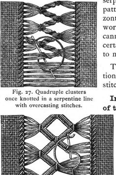 Hardanger Embroidery, Hand Embroidery Stitches, Embroidery Techniques, Embroidery Patterns, Weaving Patterns, Stitch Patterns, Swedish Weaving, Drawn Thread, Pattern Library