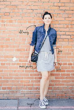 top: gap jacket: old navy skirt: loft sneaks: converse by target bag: marc by marc jacobs