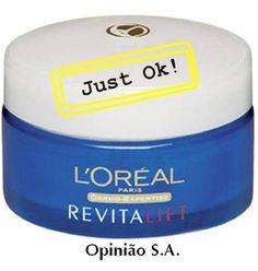 L'Oreal – Dermo-Expertise Revitalift Night Cream  http://www.opiniaosa.com.br/2012/03/07/loreal-dermo-expertise-revitalift-night-cream/