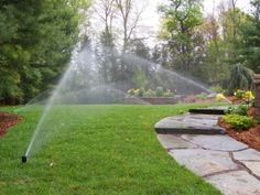 We can repair any lawn sprinkler system. While it is impractical to repair some things, we have seen most lawn irrigation problems and are experienced in ways to fix, repair, or replace the problem to get your lawn sprinkler system working efficiently. Landscaping Company, Garden Landscaping, Landscaping Ideas, Backyard Ideas, Garden Ideas, Lawn Sprinkler System, Sprinkler Repair, Sprinkler Heads, Sod Installation