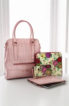 Creamy pastels and Victorian-inspired floral lend spring's sweetest handbags a romantic, ladylike charm