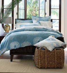 @The Company Store - Organic Bedding in a beautiful print - familyfocusblog.com
