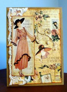 Ladies Diary collection by Graphic 45...
