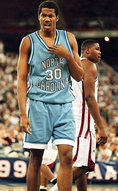 Wallace led the Tar Heels to the Final Four in 1995 and was named a Second Team AP All-America that year