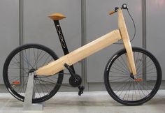 Great post from Bicycle Design blog on Le Batard Bikes , including this very simple bamboo bike, which seems a composite of bamboo.