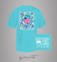 Southern Fried Cotton Youth Lucky Lil Lady Short Sleeve Shirt