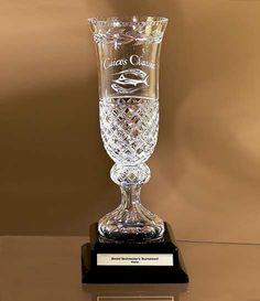 Lead Crystal Garland Vase
